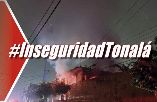 Esta fue la vivienda atacada en Santa Paula